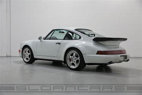porsche 964 white 1994 porsche 964 3 6 turbo grand prix white 49 515 miles