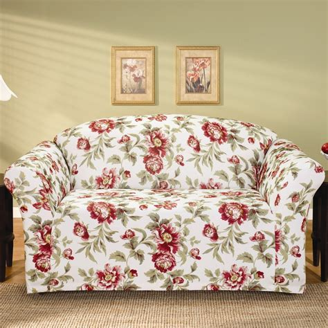 58 Best Sofa Covers Images On Pinterest Chairs Couch Floral Sofa Slipcover