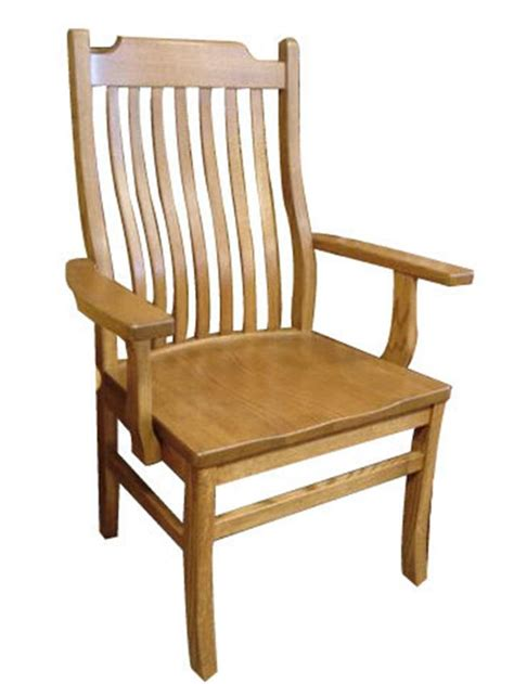 amish big and mission dining chair