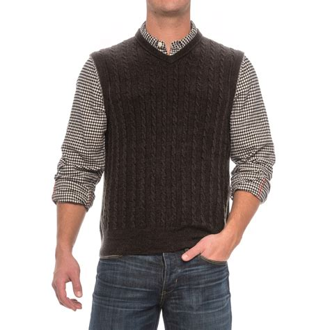 mens cable knit sweater vest specially made cable knit sweater vest for save 80