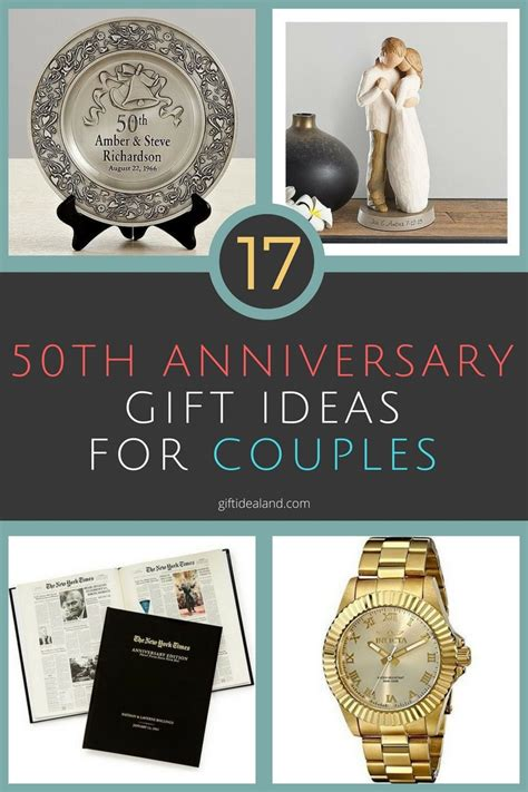 50th Wedding Anniversary Gift by 17 50th Wedding Anniversary Gift Ideas For Couples