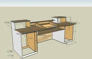 diy home studio desk pdf woodwork studio desk plans diy plans