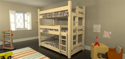 3 High Bunk Beds Maine Bunk Beds Launches New Website For Eco Friendly And Modern Bunk Beds