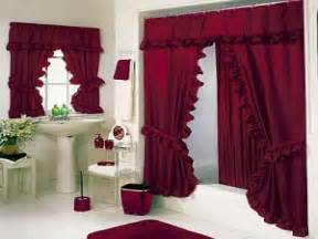 Decorating Dining Room Ideas luxury bold red bathroom shower curtains sets hookless