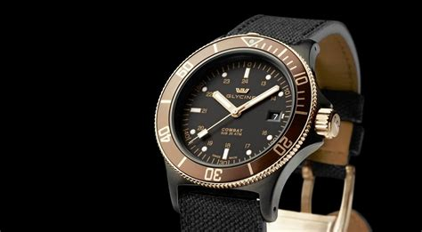 glycine combat golden eye automatic diver world review