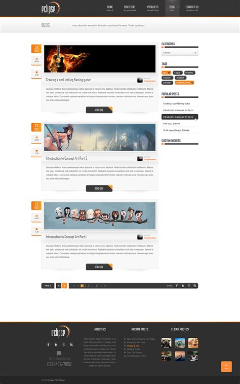 eclipse theme woocommerce eclipse premium psd template by exigodesign themeforest