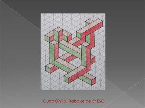 plstica 3 eso catalua educacion plastica y visual ii figuras imposibles
