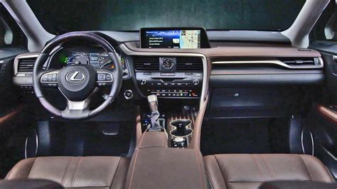 lexus jeep 2016 inside interior 2016 lexus rx 450h youtube