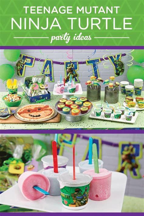 teenage mutant ninja turtles table and teenage mutant ninja turtles party theme pictures photos