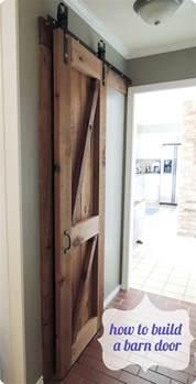 How To Build A Barn Door Frame Reclaimed Wood Barn Door