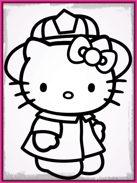 imagenes hello kitty y sus amigos dibujos de hello kitty para colorear muy bonitos