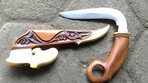 Gagang Kayu 48 Cm sejarah dan harga karambit kurambik or karambiak pencak