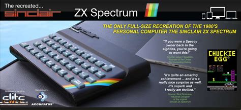 The Recreated Sinclair ZX Spectrum