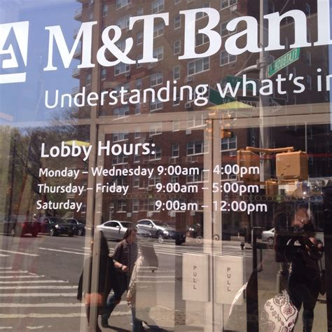 New lobby hours - Yelp M And T Bank Hours