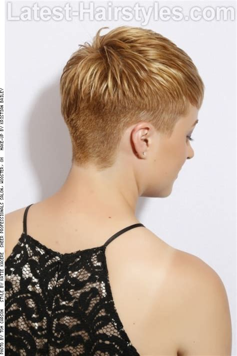 hair styles for back of undercut hairstyle women back view