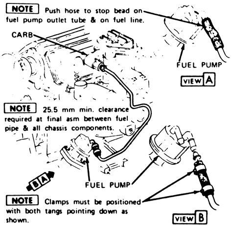 repair guides carbureted fuel system fuel