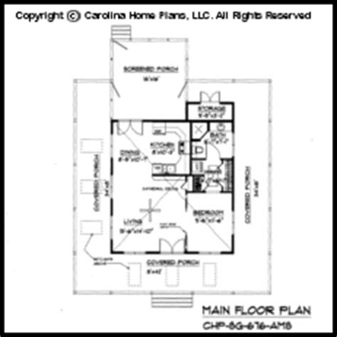 Small House Plans Under 700 Sq Ft by Tiny Country Cottage House Plan Sg 676 Sq Ft Affordable