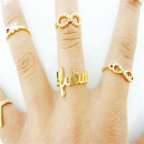 Cincin 2 3 Ring Korea 03cn03596 fashion korean metal ring ring jewellery accessories lovelywholesale wholesale shoes wholesale
