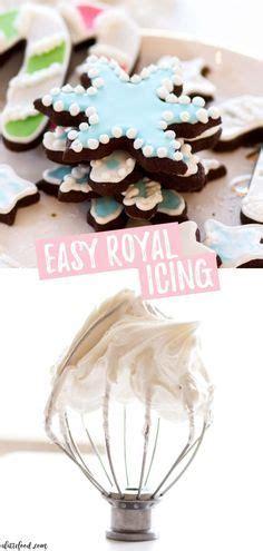 easy royal icing recipe    meringue powder
