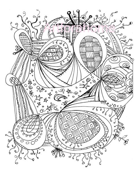 free zentangle coloring pages pdf image detail for zentangle coloring page printable