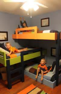 3 bunk bed 3 level bunk beds my