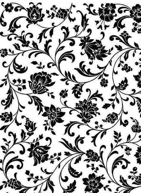imagenes hojas negras flores negras fondo blanco papeles decorativo flores