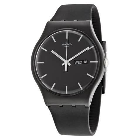 swatch mono black unisex suob720
