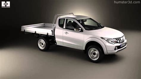 mitsubishi triton club mitsubishi triton club cab alloy tray 2015 by 3d model