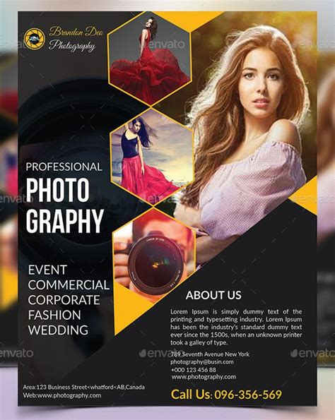 20 Fashion Photography Flyer Photography Flyer Corporate Style And Template Photography Advertisement Template