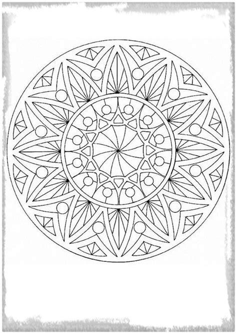dibujos para colorear mandalas dificiles dibujos para colorear de mandalas infantiles archivos