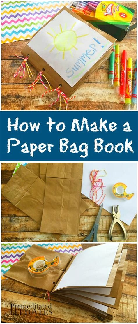 How To Make A Paper Bag Scrapbook - 25 best paper bag scrapbook ideas on paper