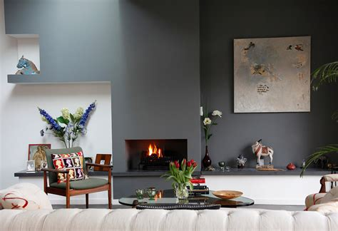 color wall a modern eclectic house tour
