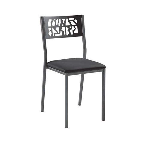 chaises de cuisine modernes chaise de cuisine moderne en m 233 tal style industriel