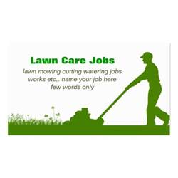 lawn care grass cutting business card zazzle - Lawn Care Business Cards