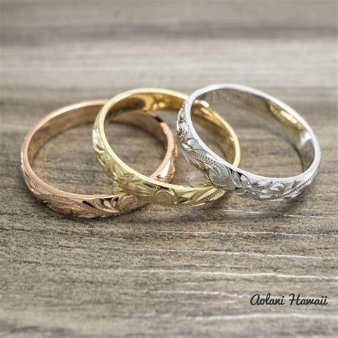 1000 ideas about hawaiian wedding rings on