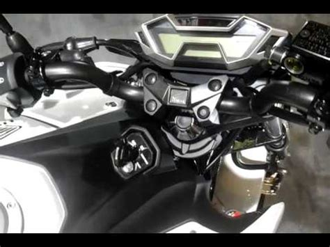 Lu Projie Vixion Advance honda new cb150r test ride run doovi