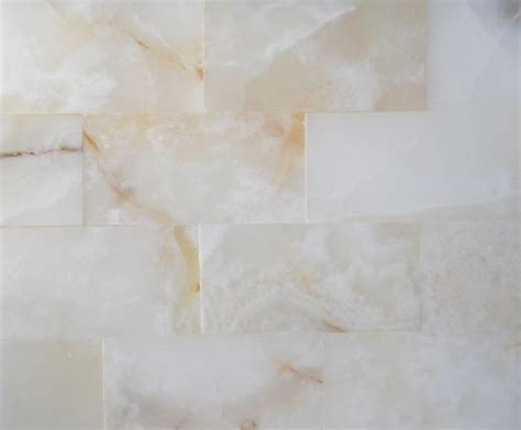 Peel And Stick Subway Tile 3x6 Pearl White Onyx Subway Brick Polished Tiles For