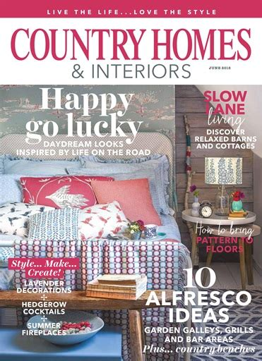 country homes and interiors magazine country homes interiors magazine june 2018