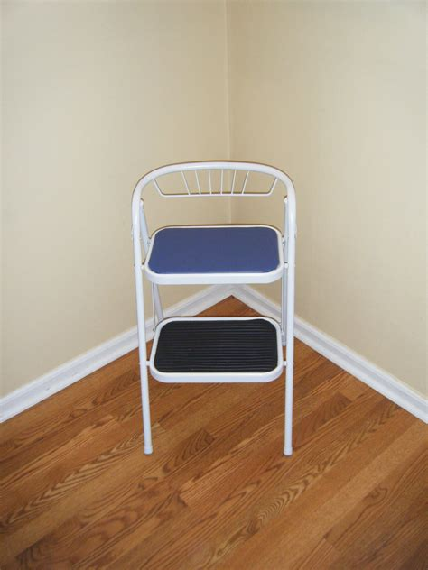 Chair Step Stool Folding by Kitchen Stool Folding Chair Step Stool By Tomscustomcreations