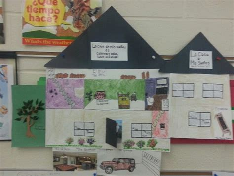 house project ideas dream house project for spanish class spanish classroom