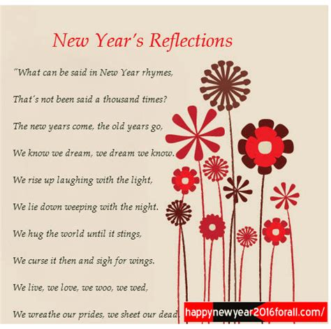 happy new year 2018 poems in english happy new year 2018