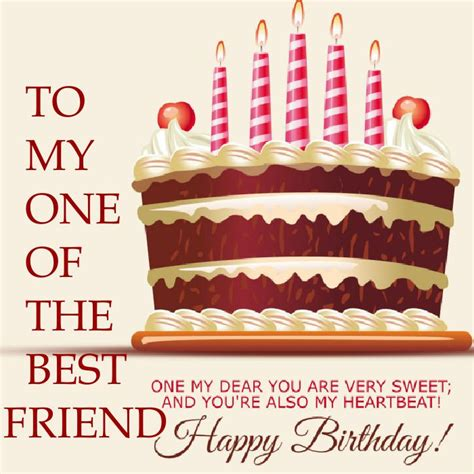 Happy Birthday My Friend I Wish You All The Best 50 Happy Birthday Quotes For Friends With Posters Word