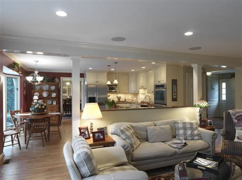 Half Wall Dividing Kitchen And Living Room How High Is The Half Wall Room Divider