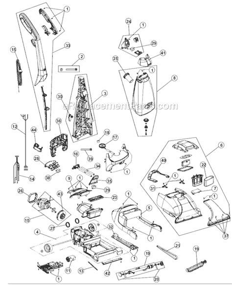 rug doctor parts diagram rug doctor mighty pro x3 parts diagram