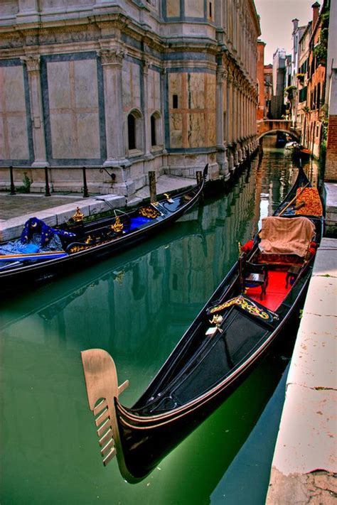 best place to get a gondola in venice gondola along the canal in venice italy andiamo