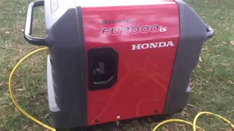 honda 3000i honda 3000i inverter generator running noise