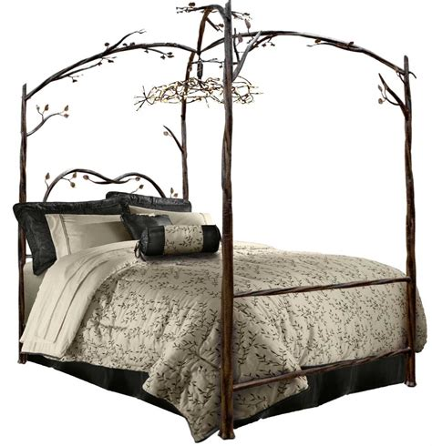 Iron Canopy Bed Frame Enjoy The Bedroom With An Iron Canopy Bed Frame Homesfeed