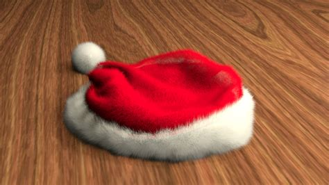 fluffy santa hat by cg dj on deviantart