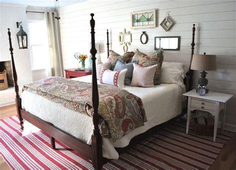 Vintage cottage bedroom farmhouse bedroom atlanta by lisa