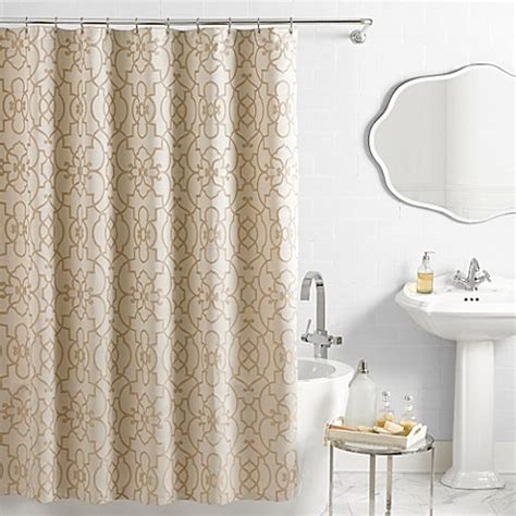 bed and bath shower curtains buy long shower curtain from bed bath beyond